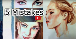 5  Beginner Mistakes with Painting.