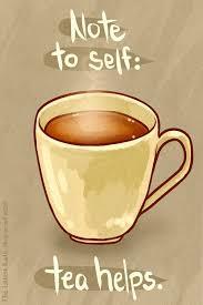 Feeling Glum? Have a cup of tea :)