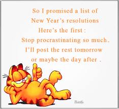 I've Made a New Years Resolution