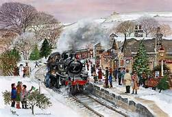 Diary Entry 10/12/2017-Snow and a Steam Train
