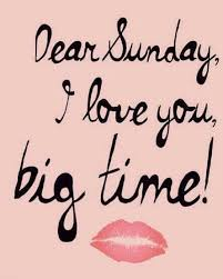 10 Things I love about Sundays