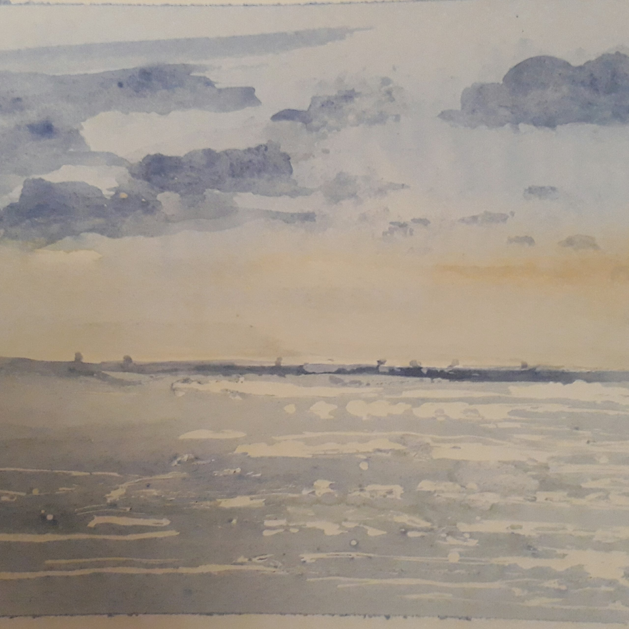 Diary Entry 19/06/2018-Painting a Seascape