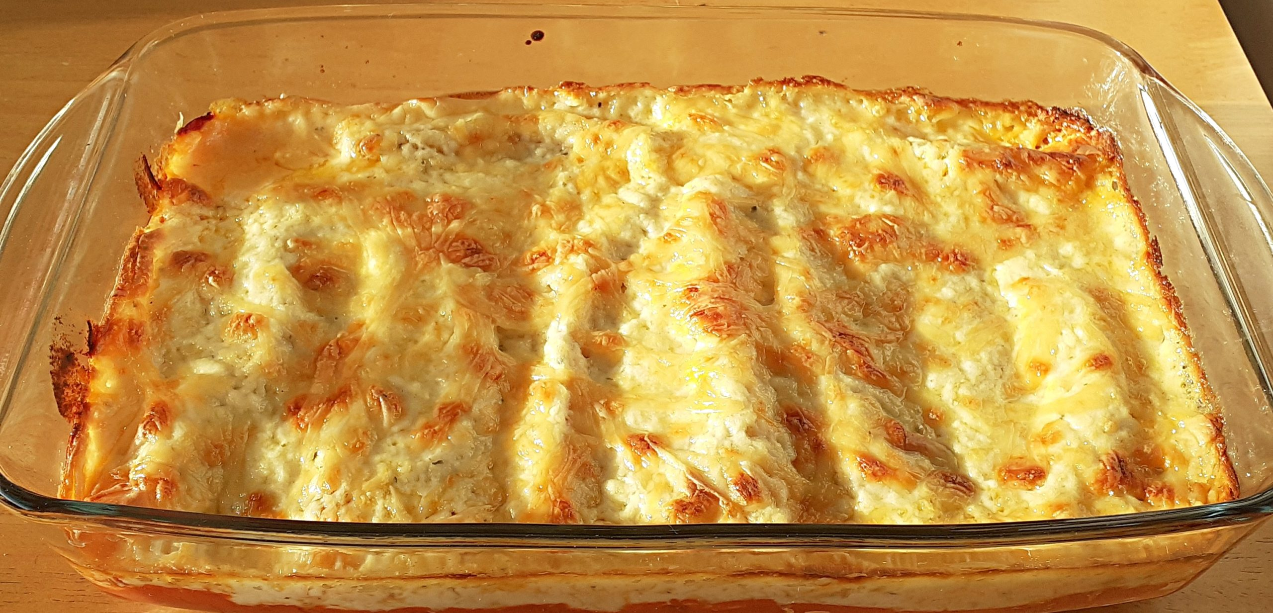 Pip's Beef Cannelloni