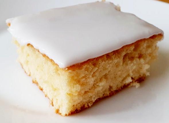School Dinner Cake