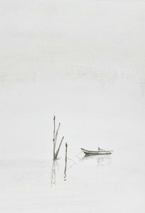 Boat in Watercolour